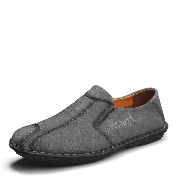 Mannen Echt Leer Penny Loafer Casual Loafers voor heren