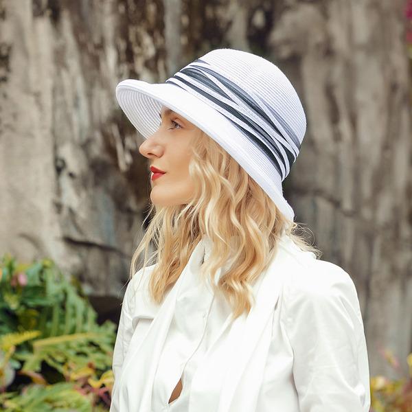Dames Style Classique/Unique Polyester Chapeaux de plage / soleil/Kentucky Derby Des Chapeaux