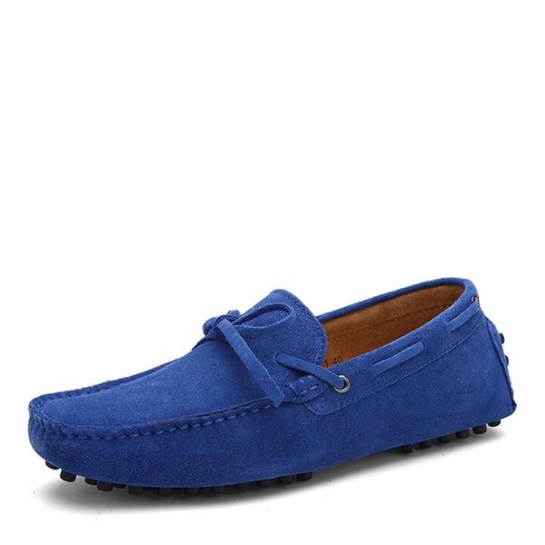 Erkek süet Tekne Ayakkabıları Gündelik Erkek Makosen Ayakkabı