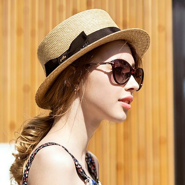 Ladies ' Móda/Speciální/Jednoduchý/Fantazie Polyester S Bowknot Pláž / sluneční klobouky