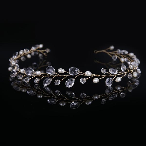 Damen Glamourös Faux-Perlen/Acryl Stirnbänder