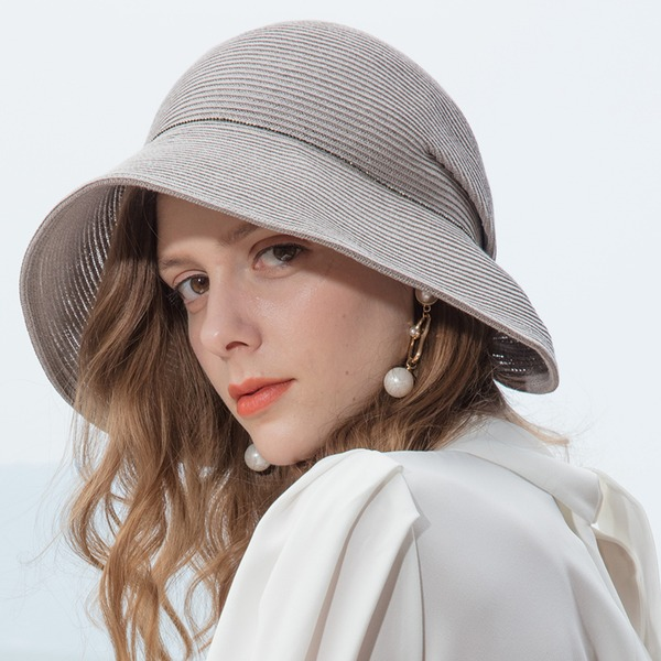 Ladies' Classic/Elegant/Simple/Vintage/Artistic Papyrus Beach/Sun Hats