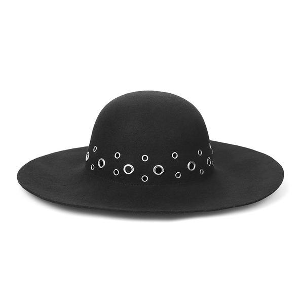 Señoras' Elegante/Único/Exquisito Madera Disquete Sombrero