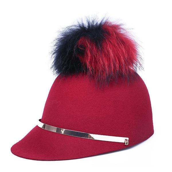 Señoras' Elegante/Único/Exquisito Madera Boina Sombrero