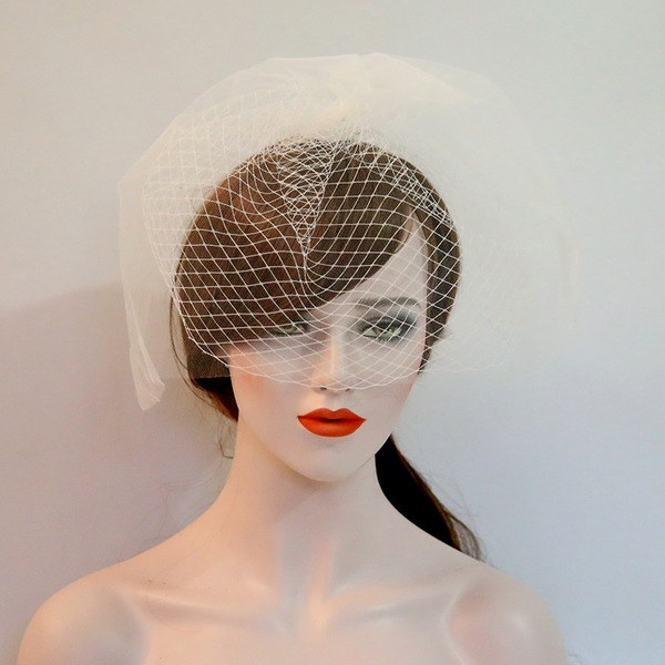 Ladies Beautiful Net Yarn Forehead Jewelry/Hats