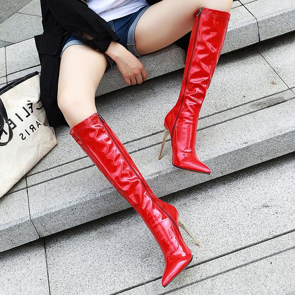 Rugan İnce Topuk Daireler Takozlar Terlikler Boots Binme ayakkabı