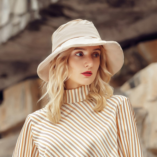 Ladies ' Charmen/Hotteste Bomuld Bucket Hat