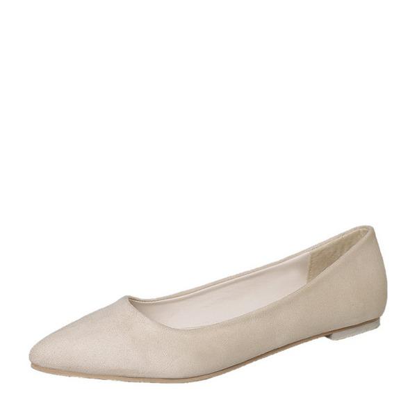 Mulheres Camurça Sem salto Sem salto Fechados sapatos