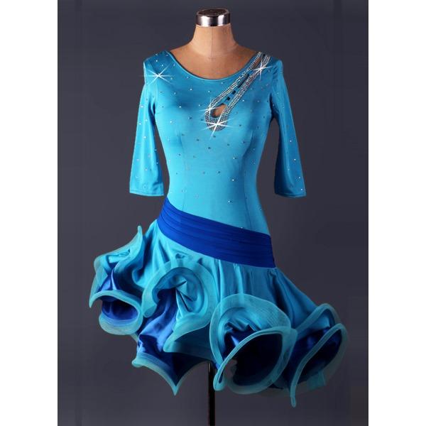 Dla kobiet Ubiór Taneczny Spandex Taniec Latynoski Trykot