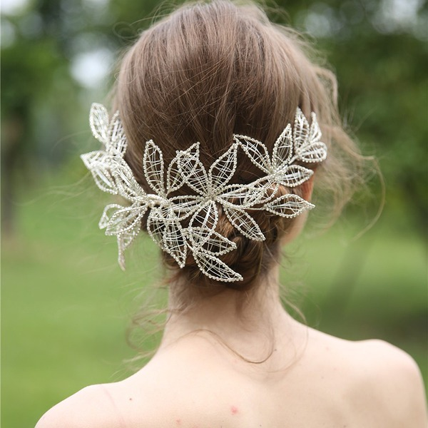 Ladies Beautiful Alloy Headbands (Sold in single piece)