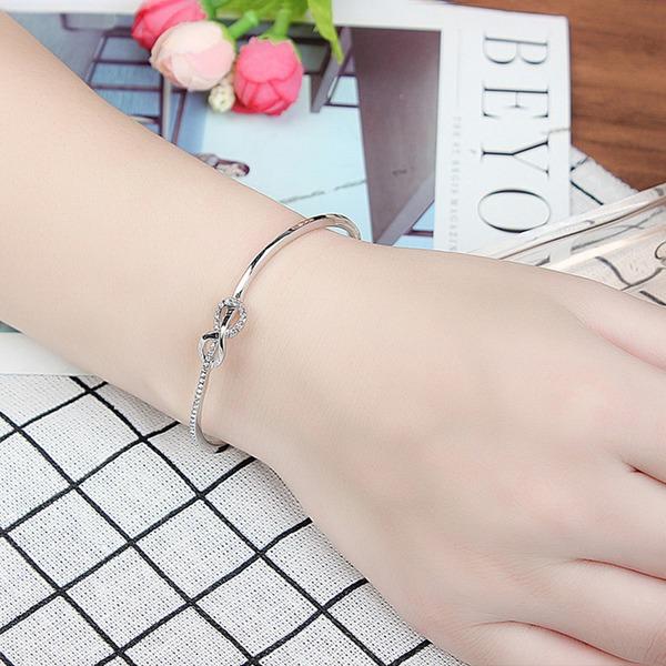 In de mode Legering Kristal met Imitatie Kristal Fashion Armbanden (Verkocht in één stuk)