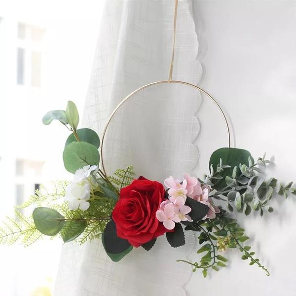 Klassisk stil/Nice Rund/Iögonfallande Konstgjorda Blommor Bröllopsdekorationer