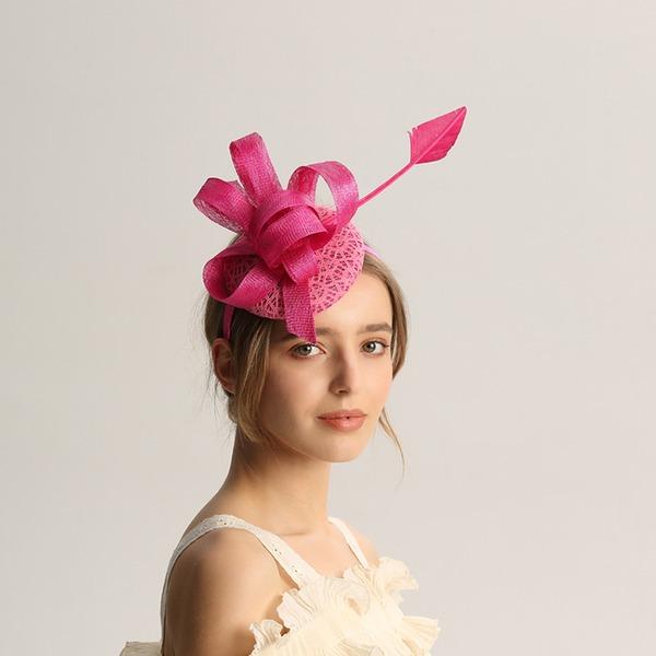 Dames Mode/Spécial/Glamour/Élégante/Unique/Fantaisie/Romantique/Style Vintage/Artistique Batiste Chapeaux de type fascinator