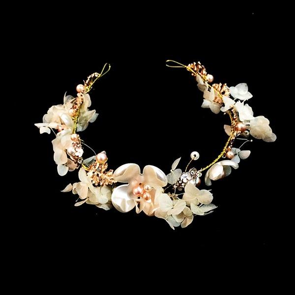 Abbigliamento donna Bella lega/Di faux perla Diademi