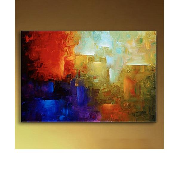 Moderno / Contemporâneo tela de pintura Decoração de casa (Vendido em uma única peça)