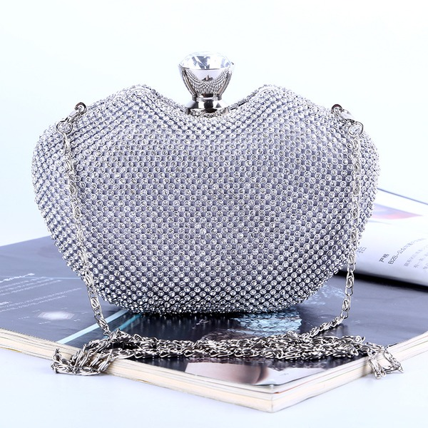 Elegant Crystal/ Rhinestone Clutches/Satchel