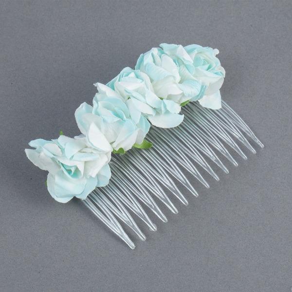 Prächtig Papier Blumen Mädchen Kopfstück