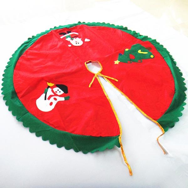 Blommig Jul mallen polyester