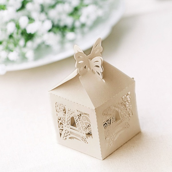Eiffel Cuboid Favor Boxes (Set of 12)
