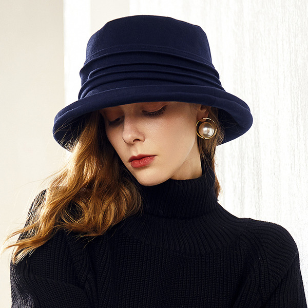 Ladies ' Glamourøse/Classic/Elegant Polyester Diskette Hat