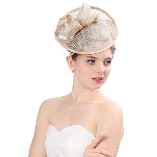 Signore Bella/Gorgeous/Moda/Speciale Cambrì con Tyll Cappello floscio/Kentucky Derby Hats/Cappelli da Tea Party