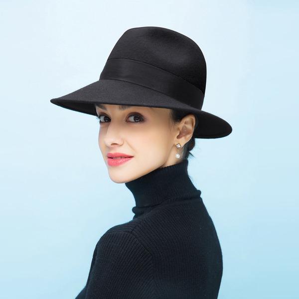 Dames Beau/Romantique Coton Disquettes Chapeau