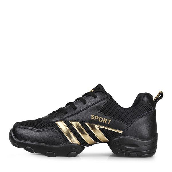 Hommes Vrai cuir Tissu Tennis Tennis avec Dentelle Chaussures de danse