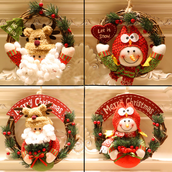 Christmas Cotton PVC Home Décor (Sold in a single piece)