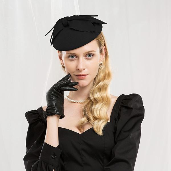 Señoras' Hermoso/Especial/Elegante Madera Boina Sombrero