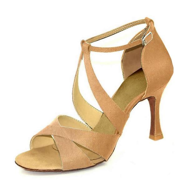 Kadın Saten Latin Dans Ayakkabıları