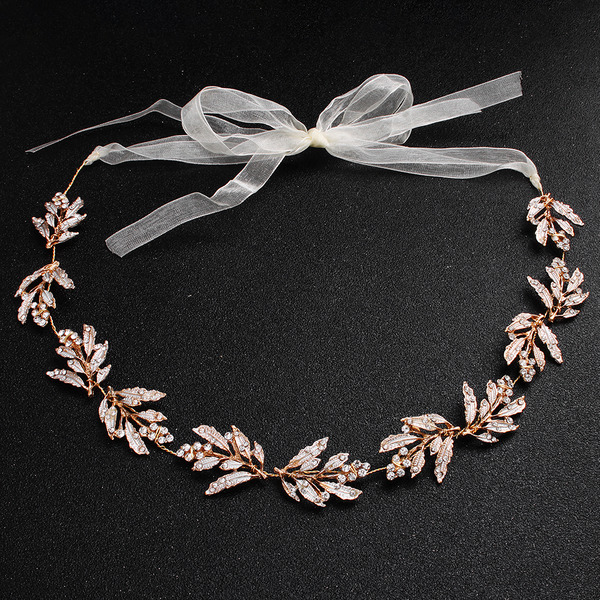 Ladies Rhinestone/Alloy Headbands