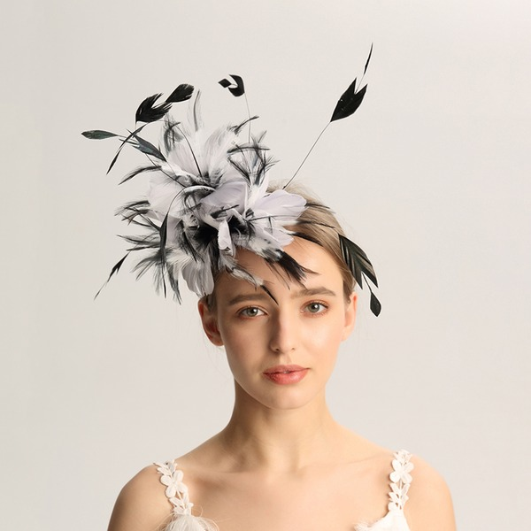 Dames Mode/Speciaal/Betoverend/Elegant/Uniek/Luim/Romantische/Wijnoogst/Artistieke Feather Fascinators