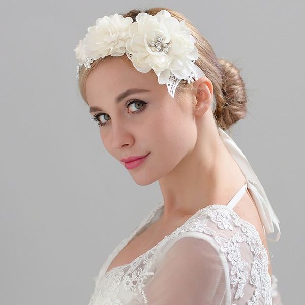 Abbigliamento donna Unico Fiore di seta Fiori & piume (Venduto in un unico pezzo)