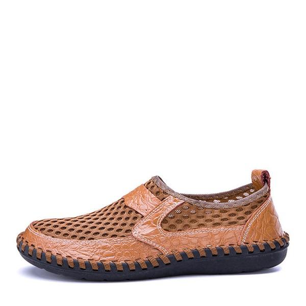 Homens mesh Sapatos De Barco Casual Mocassins Masculinos