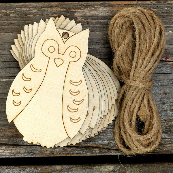 Classic/Nice Lovely/Pretty Wooden Wedding Ornaments (set of 10)