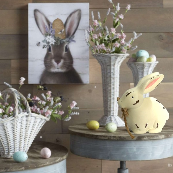 Rabbit Design Nice/Lovely/Pretty Wooden Wedding Ornaments (Sold in a single piece)