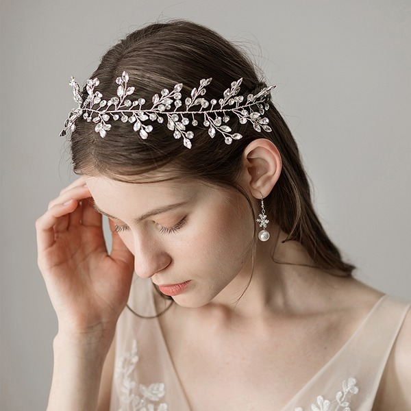 Maravilloso Perlas de agua dulce Diademas (Se venden en una sola pieza)