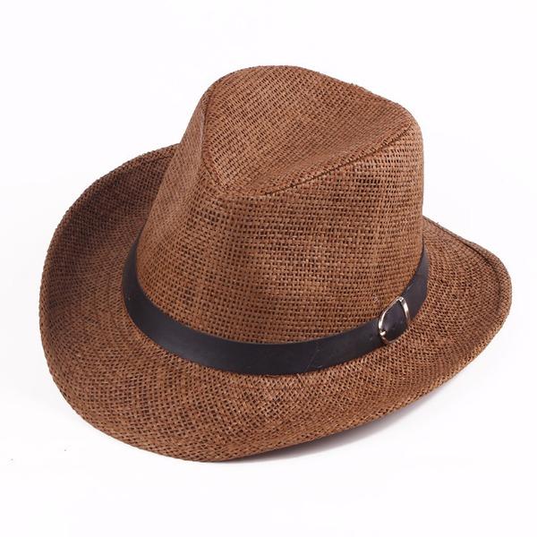 Män Klassisk stil Salt halm Cowboyhatt/Kentucky Derby Hattar