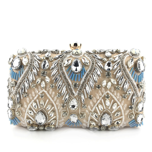 Unique/Charming/Classical Satin Clutches/Evening Bags
