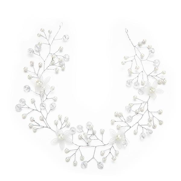Filles Spécial Cristal/De faux pearl Bandeaux avec Perle Vénitienne/Cristal (Vendu dans une seule pièce)