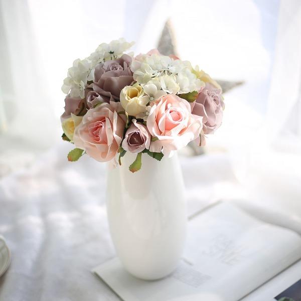 Nieformalny kwiat jedwabiu Wystrój domu