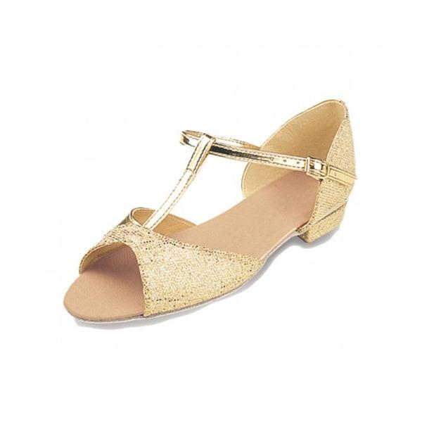 Women's Sparkling Glitter Latin Dance Shoes