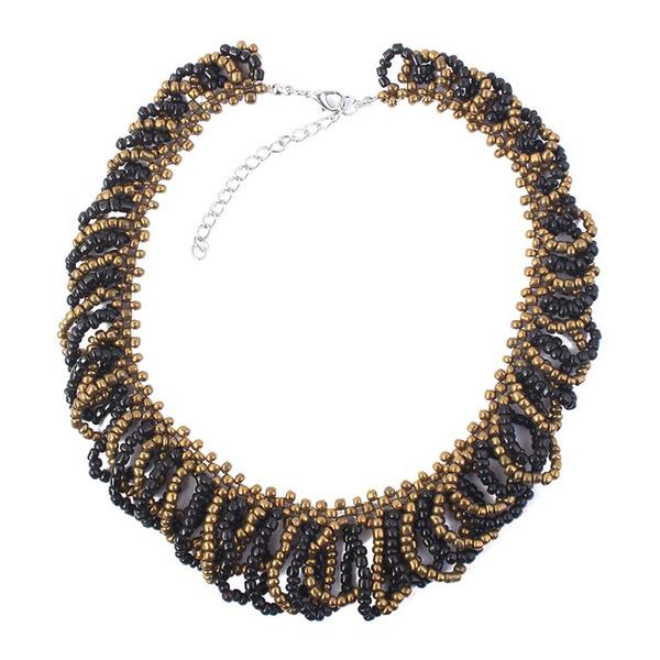 Fashional Alloy Resin Ladies' Fashion Necklace