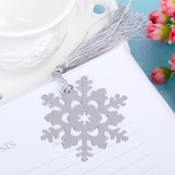 Sneeuwvlok Roestvrij Staal Bladwijzers met Kwastje