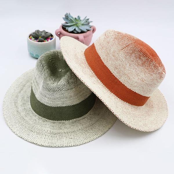 Män Vackra Och/Mode/Elegant/Enkel Papyrus Panama hatt/Kentucky Derby Hattar