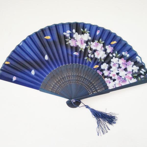 Design rostlin Bambus/Prádlo Ruční ventilátor