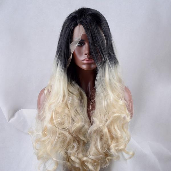 Loose Wavy Syntetiske parykker Lace Front Parykker