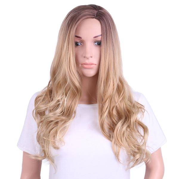 Body Wavy Capless Synthetic Wigs