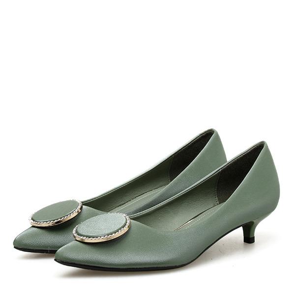 Женщины PU Высокий тонкий каблук На каблуках с пряжка обувь