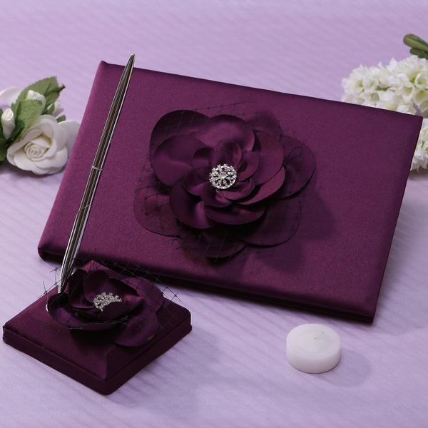 Bloemen ontwerp Steentjes Gastenboek & pennenset